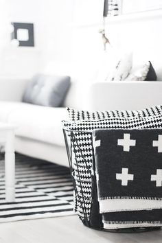 A Crash Course in the Swiss Cross Pattern You're Seeing Everywhere Right Now (well this would be a way to make a nod to my Swiss heritage!)