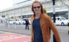 OUTLANDER star Sam Heughan has been snapped Glasgow Airport amid rumours he will be in attendance at tonight's Edinburgh Film Festival. Reports suggest the Scots-born hunk and Outlander co-star Caitriona Balfe will be on the red carpet in Edinburgh tonight. The 34-year-old is tipped for global stardom after his role as Highland warrior Jamie Fraser in the hit series Outlander. 6/17/15