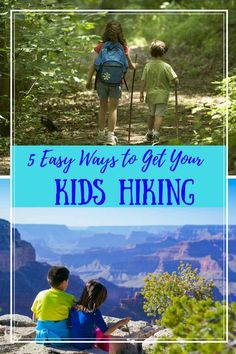 Are you wondering how to get your kids excited about hiking and the outdoors? Here are some tips to help you get out there.