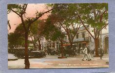 Boulevard Capitolio Caracas principios del siglo XX.-