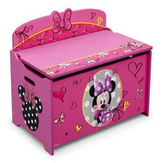 4755a542427 Disney Minnie Deluxe Toy Box Minnie Mouse Crib Set