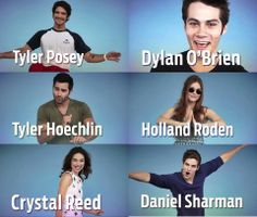 Teen Wolf Cast a.k.a My favorite people in the universe