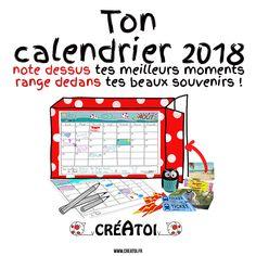 Mon+calendrier+-+souvenirs+2018+-+Décore+une+boîte+à+céréales+et+colorie+toutes+les+pages+Créatoi+de+ton+calendrier+2018. Range+tout+au+long+de+l'année+2017+tickets,+photos,+cartes,+grigris,+...+qui+te+rappellent+les+bons+moments. Note+tous+les+mois+sur+les+pages+tes+fêtes,+anniversaires+et+belles+rencontres.  Le+31+décembre+2018+ouvre+ta+boîte+et+redécouvre+tous+tes+supers+moments+de+l'année+!
