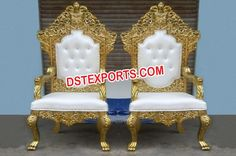 Wedding Royal Bride Groom Chairs Dstexports