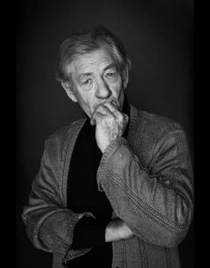 Sam Christmas: Sir Ian McKellen (This guy also did Micheal Fassbender's AND Mila Kunis' portraits. I envy him.