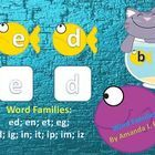 Fish Bowl Word Families - 189 Pages!!! For Special Education (Autism, etc.); Regular Education: Homeschoolers, Kindergarten; First Grade; Great for...