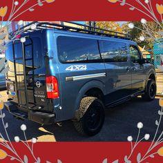 Advanced 4x4 Van Conversion with Aluminess Accesories Ambulance, 4x4 Van Conversion, Nissan Vans, 4x4 Accessories, Vanz, Men's Vans, Expedition Vehicle, Four Wheel Drive, Vintage Trucks