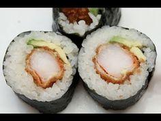 How to Make Sushi - Shrimp Fry Rolls