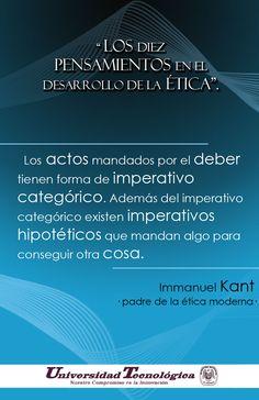 Afiche Universitario / Pensamiento sobre el desarrollo de Etica