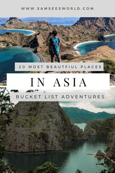 Here are the 20 most beautiful places to visit in all of Asia. Find the most aesthetic, historical, and best places on this list. Beautiful Places In The World, Beautiful Places To Visit, Places Around The World, Cool Places To Visit, Places To Travel, Europe Travel Tips, Asia Travel, Travel Destinations, Travel Guide