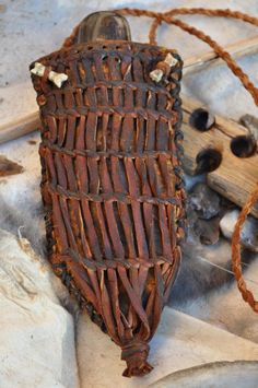 replica Otzi knife and sheath