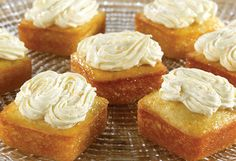 Orange Blossom Cakes (and other recipes for pampered chef brownie pan