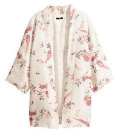 Sleeve Kimono-Style Dressing Gown LAVELIQ