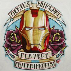 Iron Man by Electricalivia.deviantart.com on @deviantART