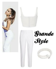 Designer Clothes, Shoes & Bags for Women Ariana Grande Outfits, White Jeans, Bliss, Michael Kors, Shoe Bag, Polyvore, Stuff To Buy, Shopping, Collection