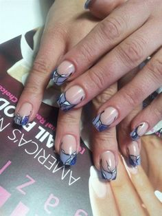 Nail Art Gallery - abstract french