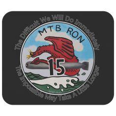Mosquito Fleet Squadron RON 3 PT Boat Disney Emblem Coffee Mug