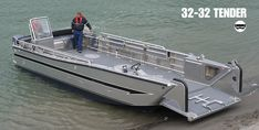 Yacht Tender | Boat Tenders Used For Sale | Munson Aluminum Boats