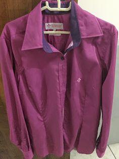 Camisa Dudalina Feminina Uva