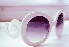 Gafas Blancas   romwe , Primavera-Verano 2012. En el armario de sojuls desde el 22-3-2012