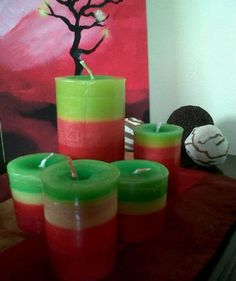 Candles for colour, do it yourself!