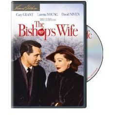 The Bishop's Wife with David Niven, Loretta Young, & Cary Grant