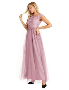 JUSTYOUROUTFIT Ladies Strappy Cocktail Bridesmaid Evening Occasion Prom Dress