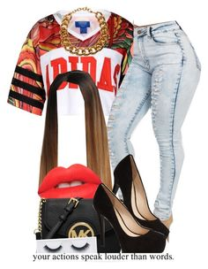 """""""Bet Awards , sitting in the audience (My outfit)"""" by trillest-queen ❤ liked on Polyvore"""