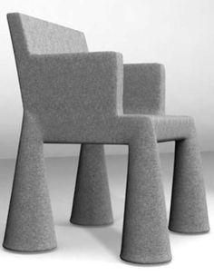 Eclectic Chairs, Ludwig Mies Van Der Rohe, News Design, Product Design, Contemporary Design, Bar Stools, Condo, Ottoman, Armchair