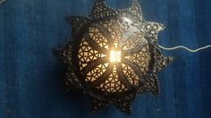 lighting: Wall Lantern Uniquely handmade by artisans using Glass. Crafted by Mohssine Ben Jalloun from Fes, Morocco. Ships to USA and Europe Qty: 1