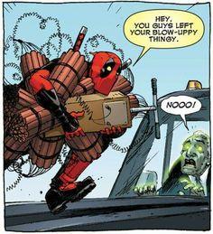 Why I love Deadpool and his comics. Deadpool Love, Deadpool Funny, Deadpool And Spiderman, Funny Marvel Memes, Funny Comics, Deadpool Stuff, Marvel Dc Comics, Marvel Heroes, Marvel Avengers