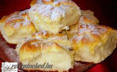 Érdekel a receptje? Kattints a képre! Bread Dough Recipe, Hungarian Recipes, Winter Food, No Bake Desserts, Mexican Food Recipes, Deserts, Food And Drink, Cooking Recipes, Yummy Food