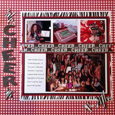 Scrappin' Sports & More: cheerleading