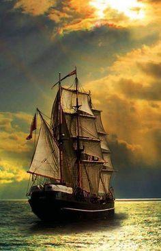 Strong winds make good sailing Sailboat Art, Sailboats, Old Sailing Ships, Sailing Boat, Ship Drawing, Ship Paintings, Tug Boats, Ship Art, Tall Ships