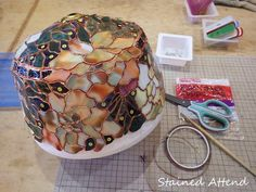 Stained Glass Crafts, Stained Glass Lamps, Stained Glass