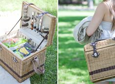 A picnic basket makes the perfect wedding gift!