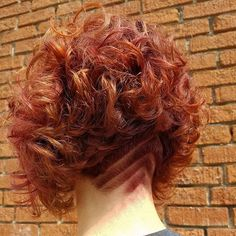Sexy and Trendy Shaved Hairstyles for Women - Nails C #ShortHairStyles