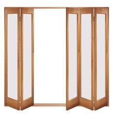 Image of Folding Doors, IFS-5MFMAR Marston 5 Door Set, Frame & Frosted Glass