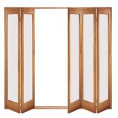 Image of Folding Doors, IFS-5MFMAR Marston 5 Door Set, Frame & Frosted Glass