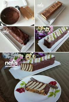 Suprise Inside Cake, Turkish Recipes, Indian Food Recipes, Persian Desserts, Pasta Cake, Trifle Desserts, Biscuit Cake, Cupcakes, Desert Recipes