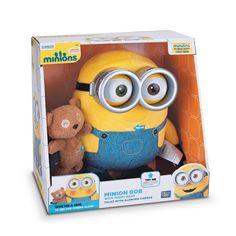 bob the minion | minion bob with teddy bear minion toys responds when you hug him ...