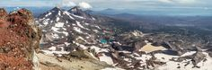 View from South Sister, Oregon | 59 Images That Prove Northwest Is Truly Best