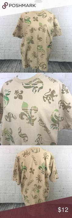 South Pole Men's Beige Tee -Size Large South Pole Men's Beige Tee -Size Large - Good condition -Smoke-free home. South Pole Shirts Tees - Short Sleeve