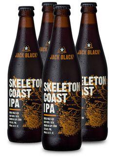JACK BLACK SKELETON COAST IPA #CraftBeer #CapeTown #JackBlackBeer American Ipa, Unusual Names, Beer 101, Beers Of The World, Acquired Taste, Beer Company, Beer Brands, Beer Packaging, Beer Tasting