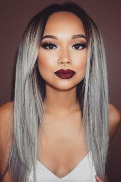 Luxury Silver/Grey Ombre Straight Brazilian Virgin Hair Celebrity Lace Wigs - See more at: http://www.hairplusbase.com/luxury-brazilian-virgin-hair-silver-grey-ombre-straight-celebrity-lace-wigs#sthash.jnZoDvcr.dpuf @hairplusbase