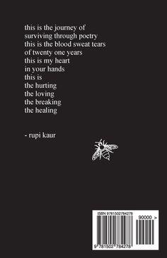 rupi kaur milk and honey book - Recherche Google
