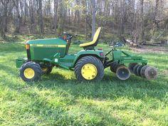 John deere 455 John Deere Garden Tractors, Yard Tractors, Lawn Mower Tractor, Small Tractors, Tractor Loader, Compact Tractors, Quad, Garden Tractor Attachments, Types Of Lawn