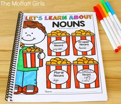 Learning grammar couldn't be more fun with the 2nd Grade Language Arts and Grammar NO PREP Packets, filled with activities to teach nouns, adjectives, capitalization, dictionary skills, sentence structure and so much more!
