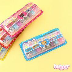 Korean Cute Topping Glitter Set - 8 pcs