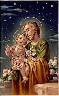 Saint Joseph with The Child Jesus